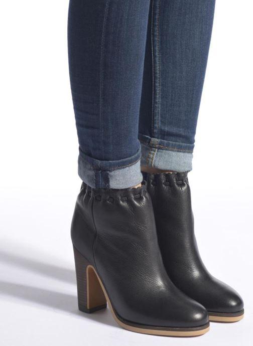 Boots en enkellaarsjes See by Chloé Yspa Zwart onder