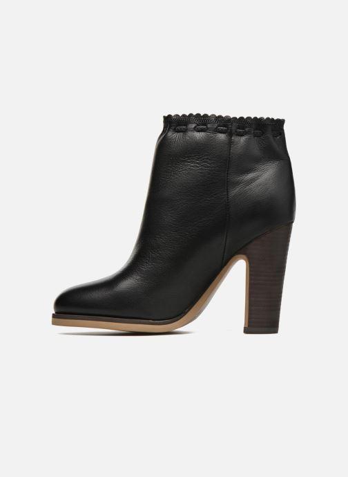 Boots en enkellaarsjes See by Chloé Yspa Zwart voorkant