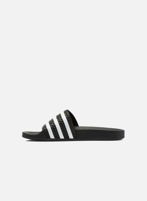 Sandals adidas originals Adilette Black front view
