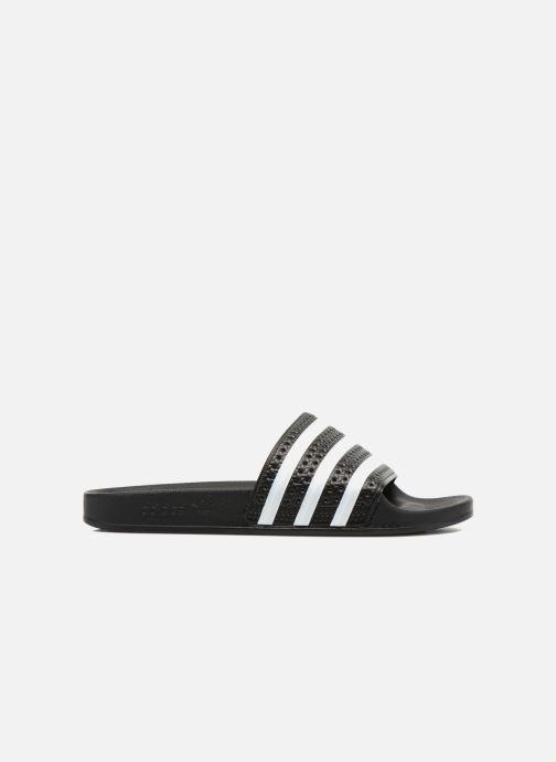 Sandalen adidas originals Adilette schwarz ansicht von hinten
