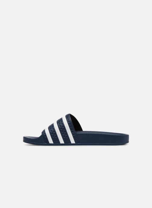 Sandalias adidas originals Adilette Azul vista de frente
