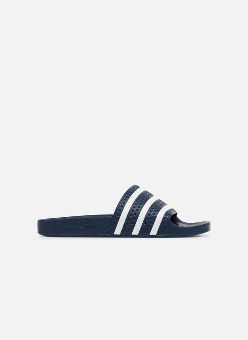 Sandales et nu-pieds adidas originals Adilette Bleu vue derrière