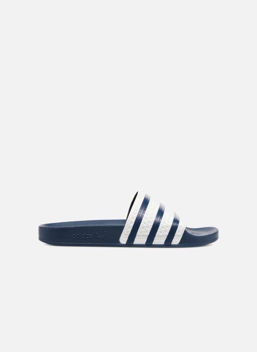 Sandalias adidas originals Adilette Azul vistra trasera