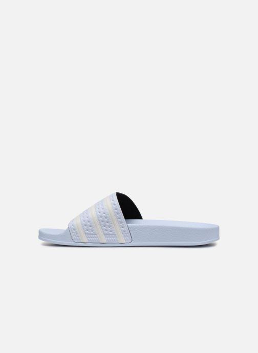 adidas originals Adilette (Bleu) Sandales et nu pieds chez