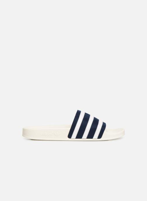 Sandalias adidas originals Adilette Blanco vistra trasera
