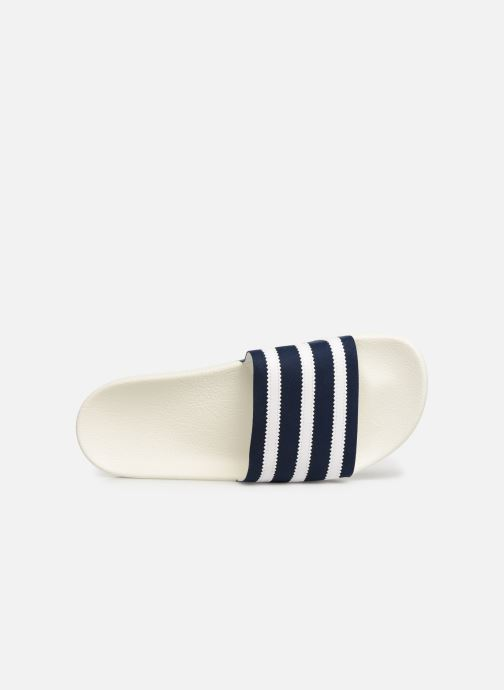 Sandals adidas originals Adilette White view from the left