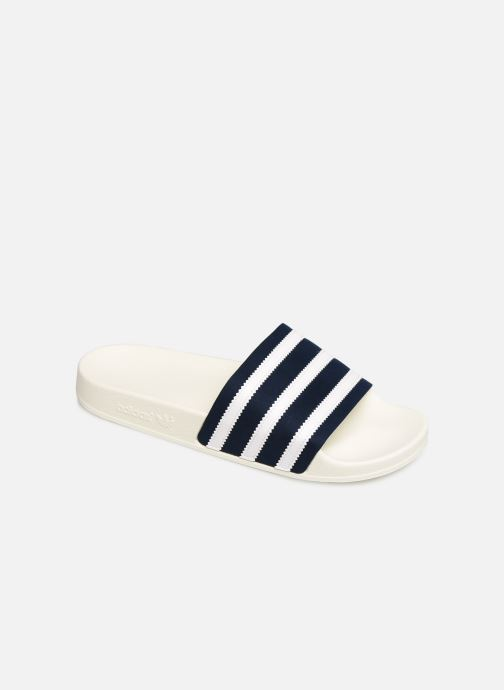 Sandals adidas originals Adilette White detailed view/ Pair view