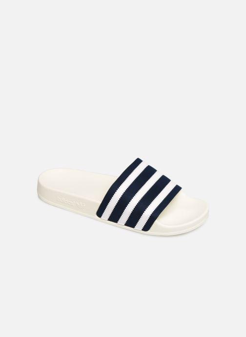 Sandalias adidas originals Adilette Blanco vista de detalle / par