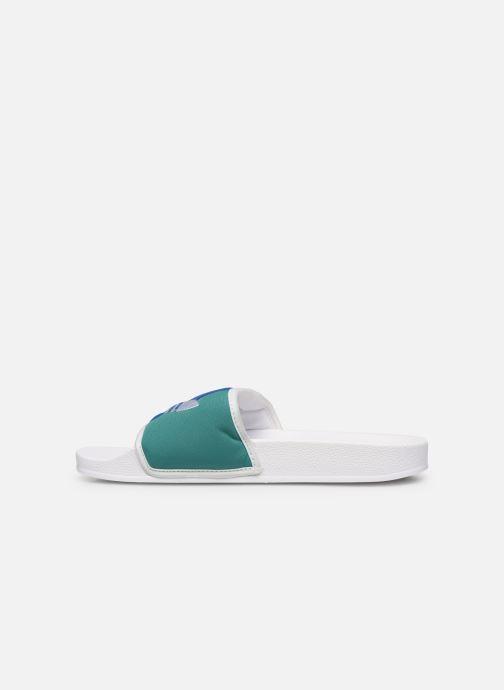 Sandales et nu-pieds adidas originals Adilette Multicolore vue face