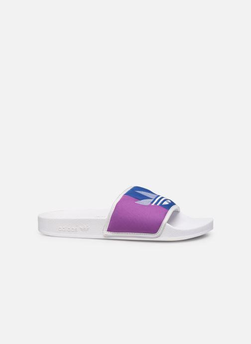 Sandales et nu-pieds adidas originals Adilette Multicolore vue derrière