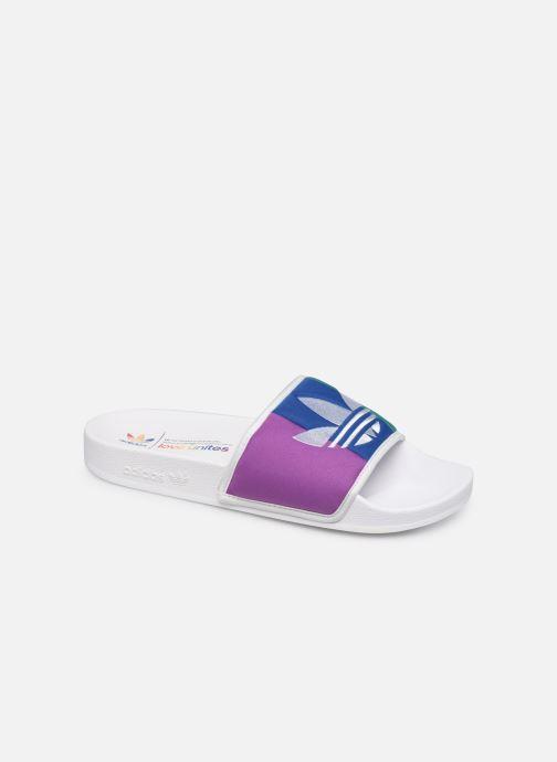 Sandales et nu-pieds adidas originals Adilette Multicolore vue détail/paire