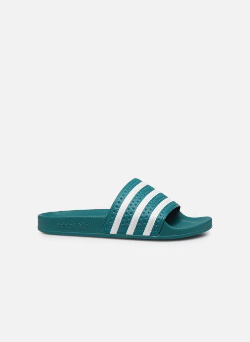 Sandales et nu-pieds adidas originals Adilette Vert vue derrière