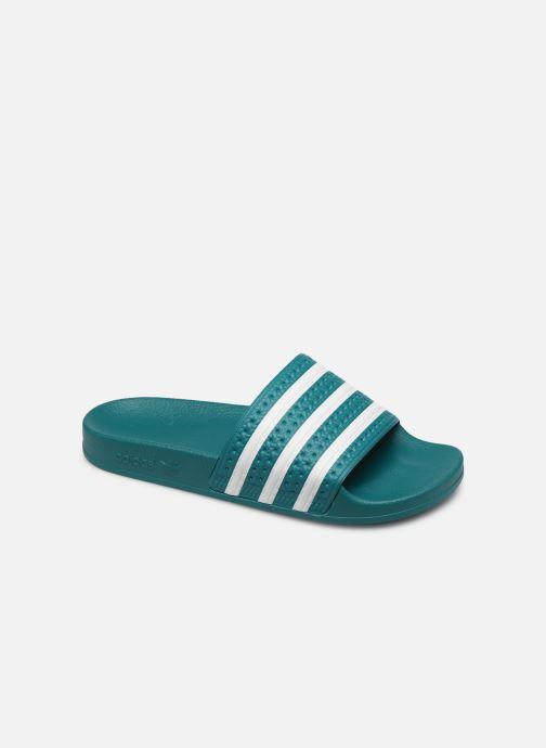 Sandales et nu-pieds adidas originals Adilette Vert vue détail/paire