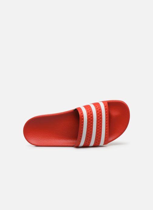Sandalen adidas originals Adilette Rood links
