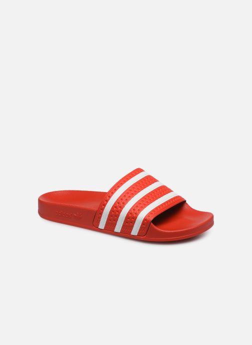 Sandalen adidas originals Adilette Rood detail