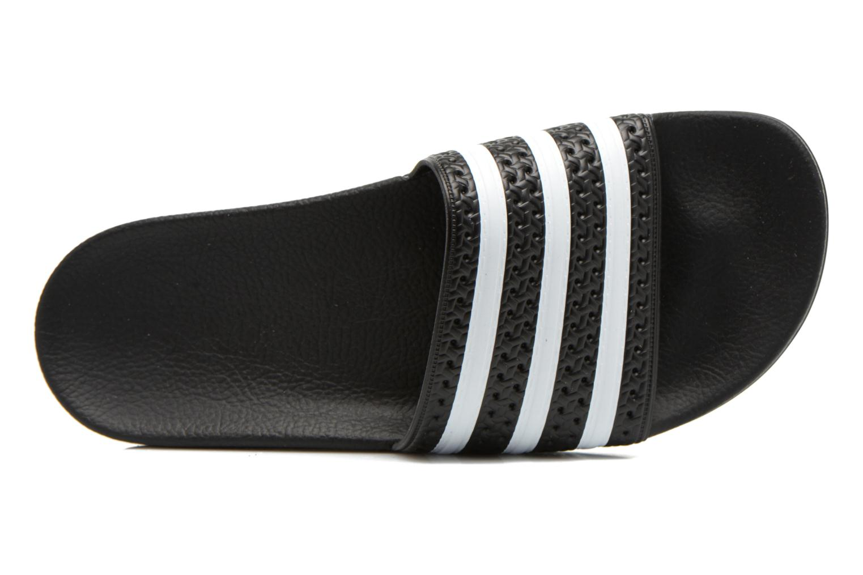 Sandalen Adidas Originals Adilette Zwart links
