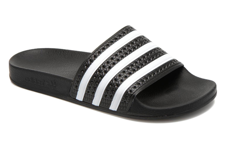 Sandalen Adidas Originals Adilette Zwart detail
