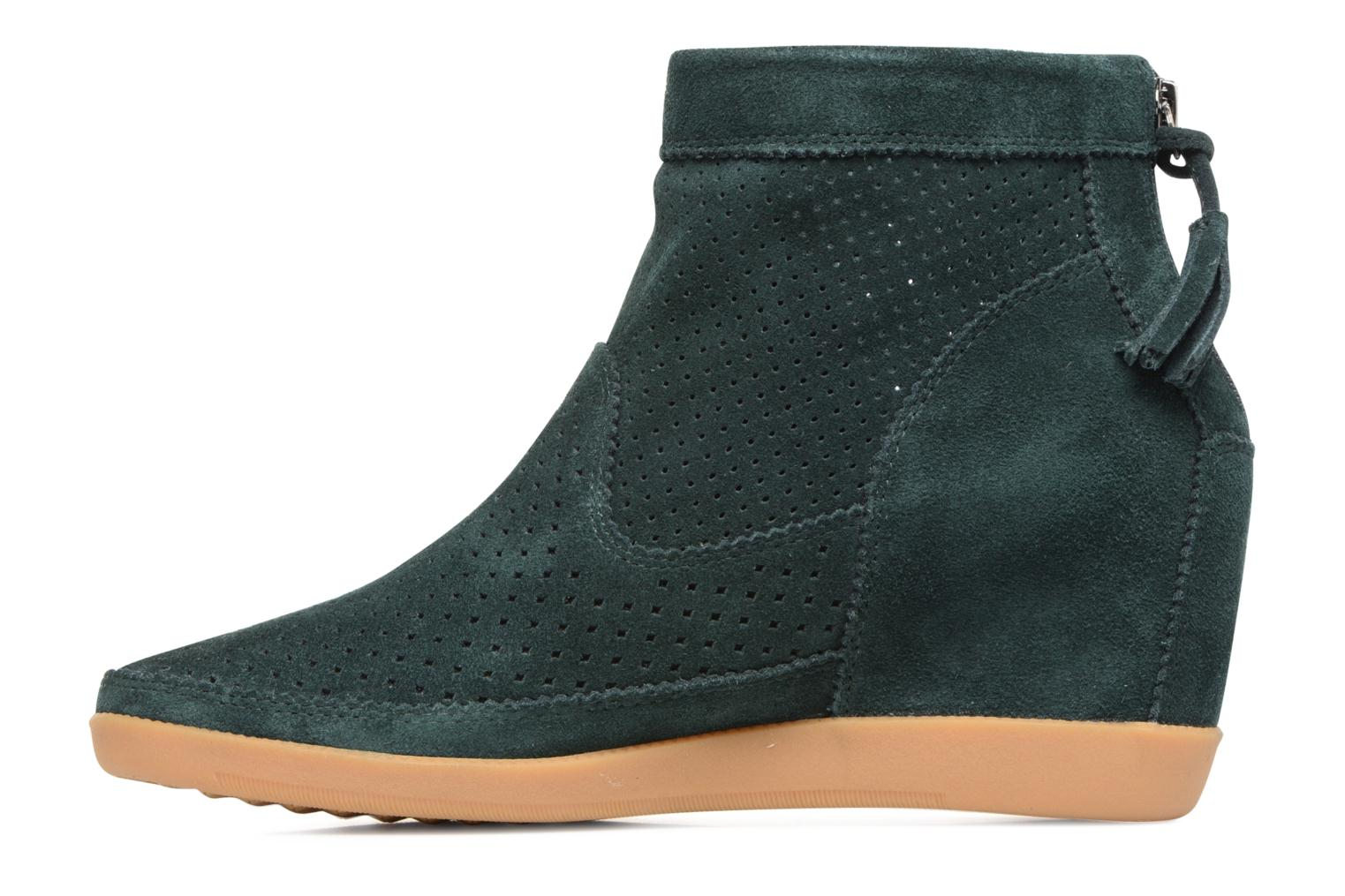 Ankle boots Shoe the bear Emmy 3 Green front view
