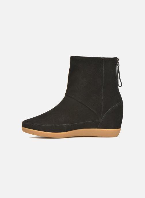 Boots en enkellaarsjes Shoe the bear Emmy Fur Zwart voorkant