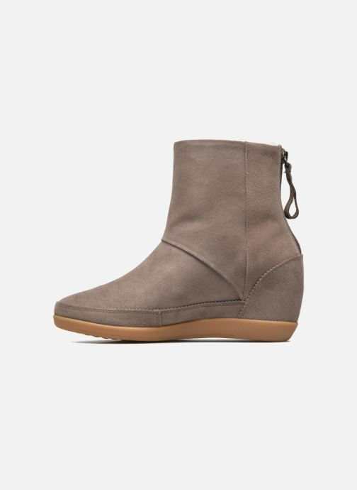 Boots en enkellaarsjes Shoe the bear Emmy Fur Beige voorkant