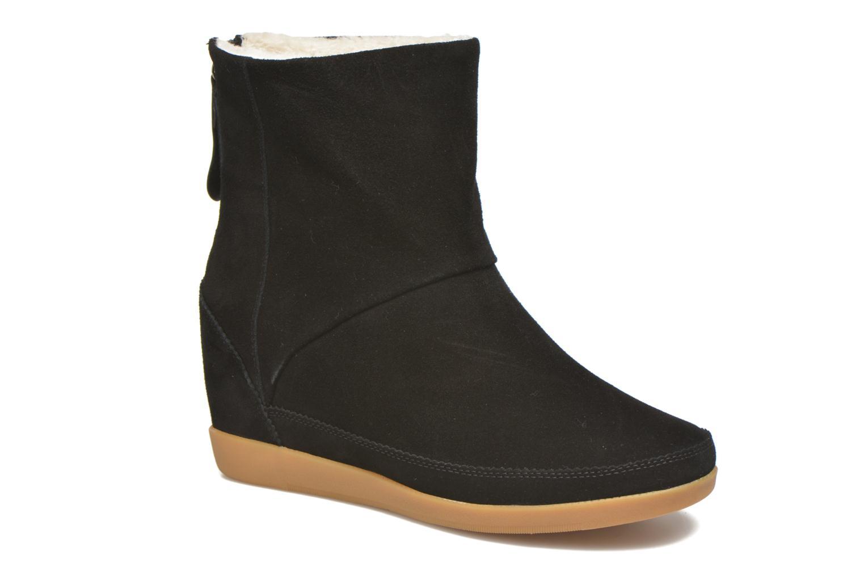 The Fur 260108 Chez negro Bear Emmy Sarenza Shoe Botines PtTd8t