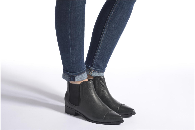 Bottines et boots Shoe the bear Aina L Noir vue bas / vue portée sac