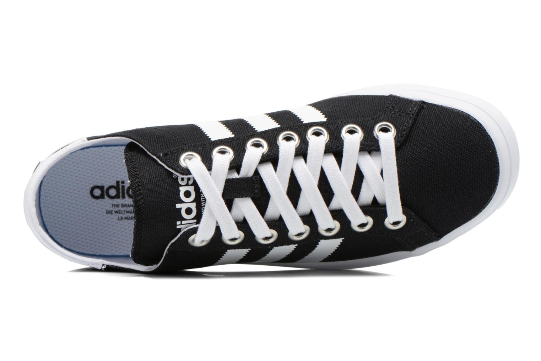 Sneakers Adidas Originals Court Vantage W Sort se fra venstre