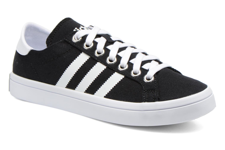 Sneakers Adidas Originals Court Vantage W Sort detaljeret billede af skoene