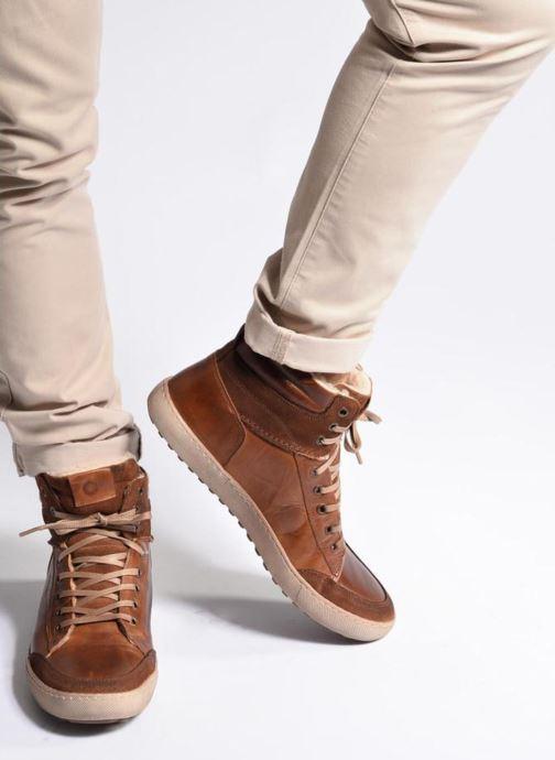 Sneakers Mr SARENZA Walmoute Marrone immagine dal basso