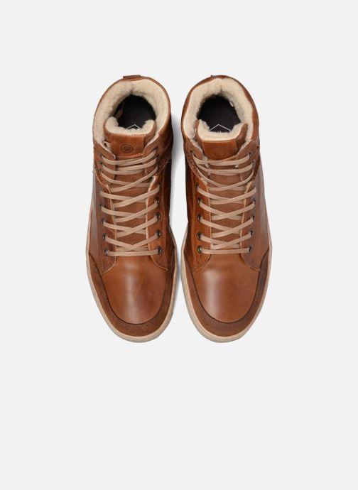 Baskets Mr SARENZA Walmoute Marron vue portées chaussures