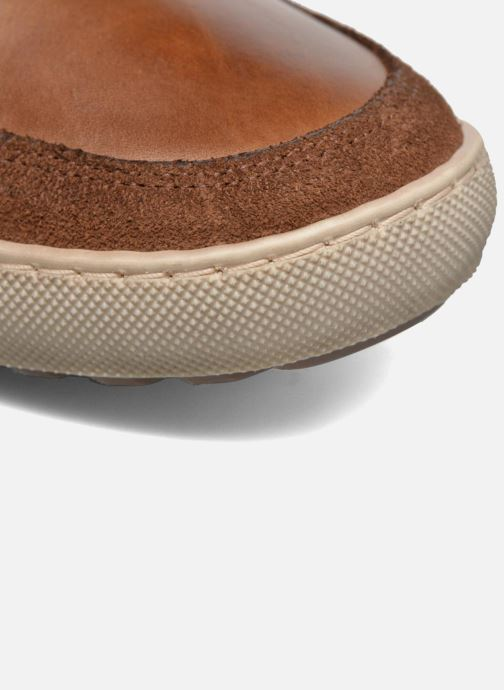 Sneakers Mr SARENZA Walmoute Marrone immagine sinistra