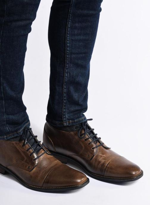 Ankle boots Mr SARENZA Walboots Brown view from underneath / model view