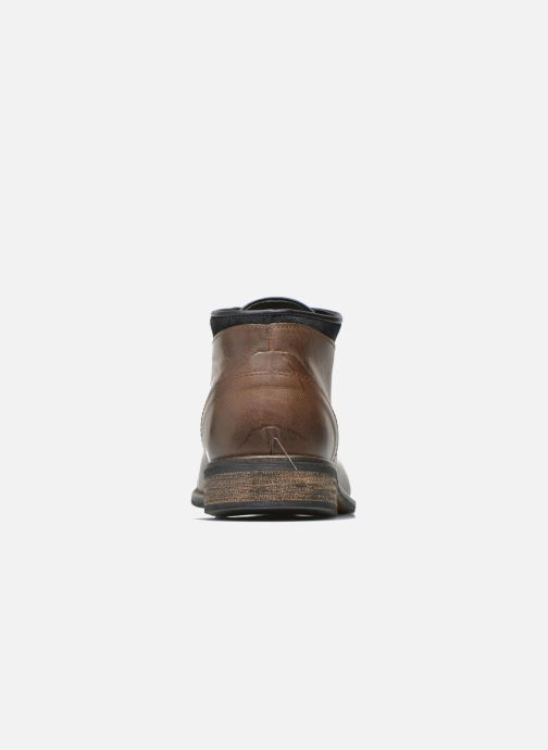 Ankle boots Mr SARENZA Walboots Brown view from the right