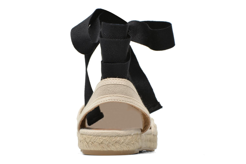 Sandales et nu-pieds Georgia Rose Dalore Beige vue droite
