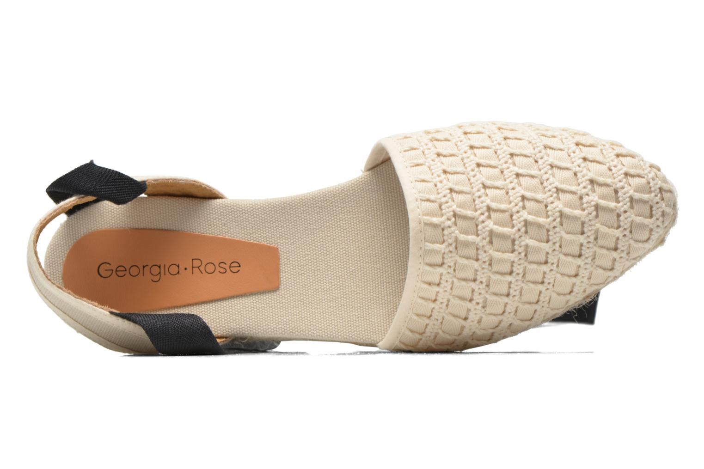 Sandales et nu-pieds Georgia Rose Dalore Beige vue gauche