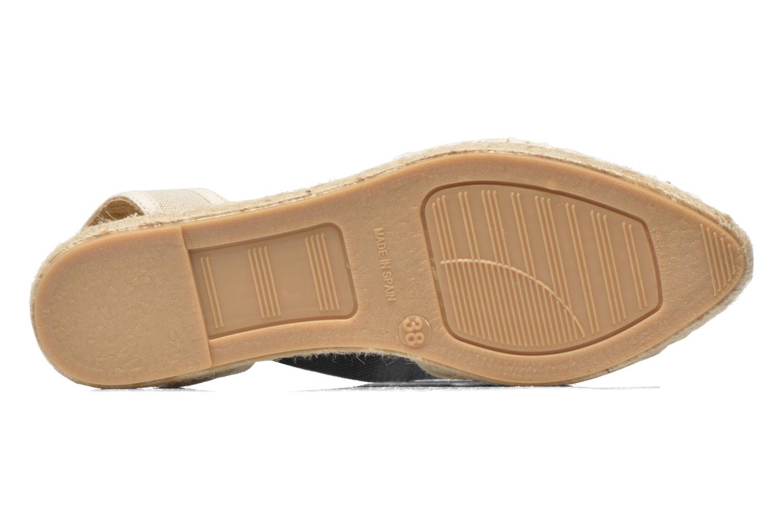 Sandales et nu-pieds Georgia Rose Dalore Beige vue haut