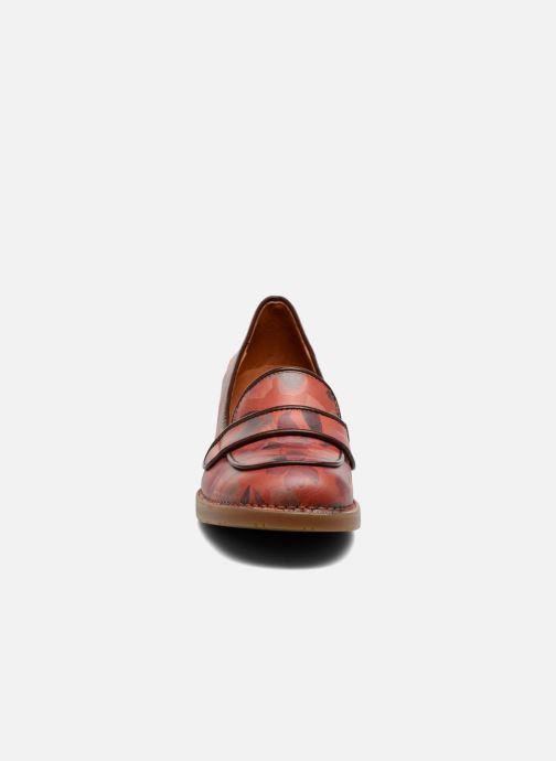 Mocassins Art Bristol 79 Rouge vue portées chaussures