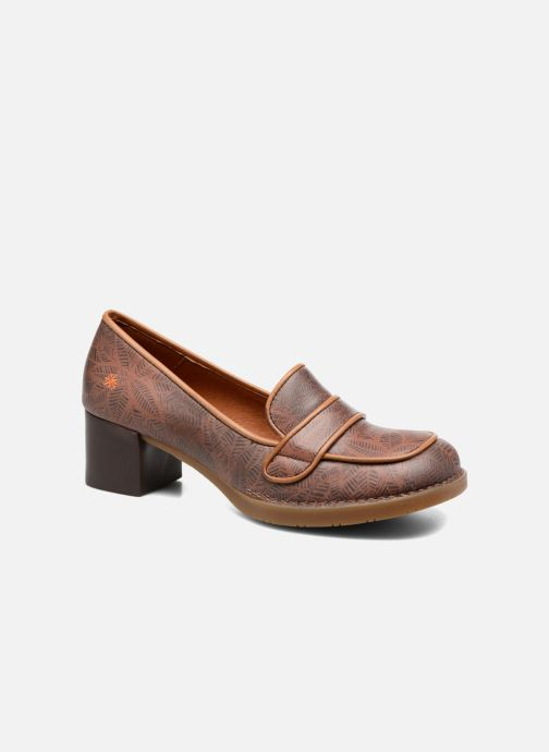 Loafers Art Bristol 79 Brown detailed view/ Pair view