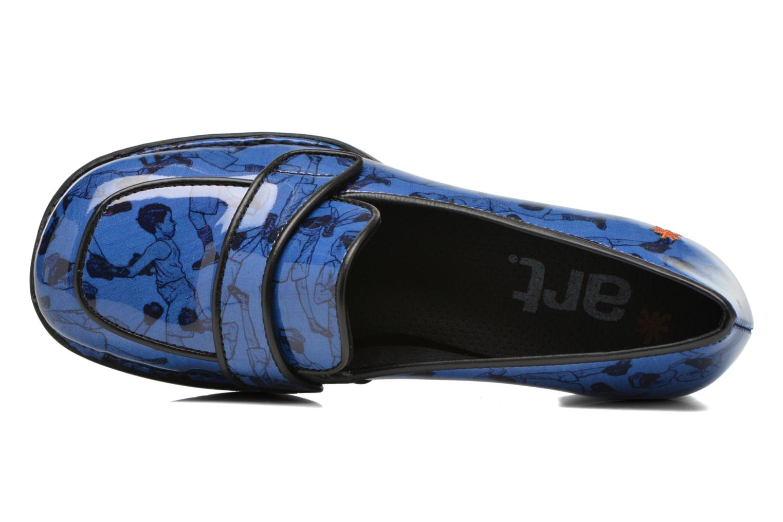 Mocassins Art Bristol 79 Bleu vue gauche