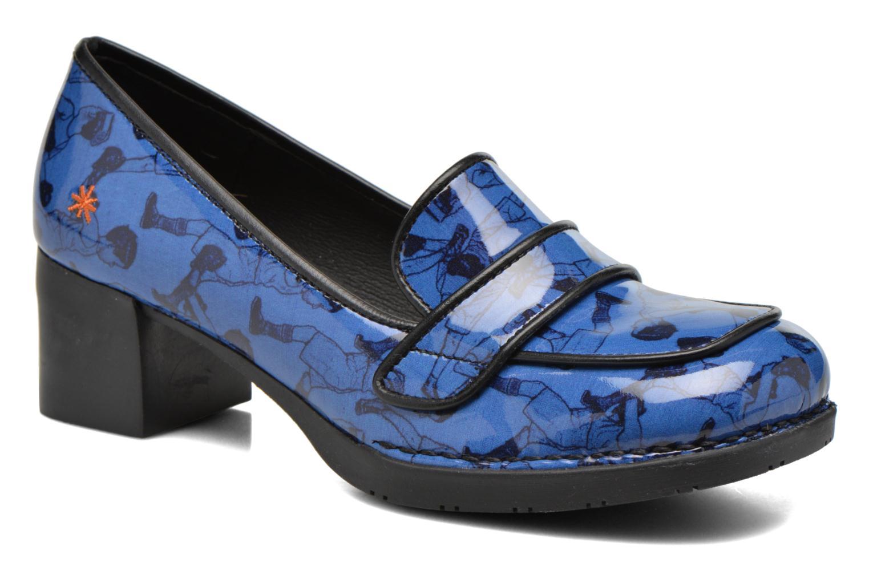 Mocassins Art Bristol 79 Bleu vue détail/paire