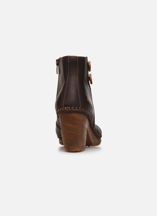 Boots en enkellaarsjes Art Amsterdam 362 Bruin rechts