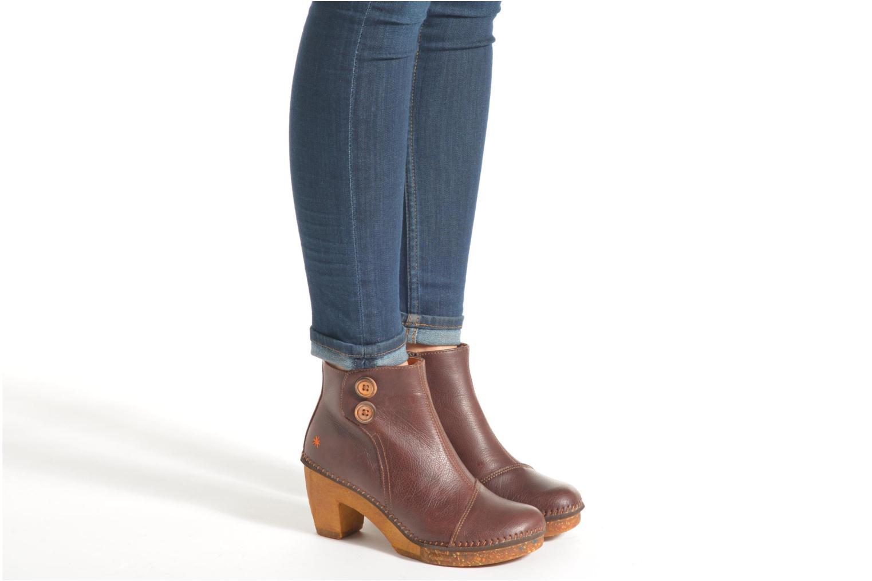 Bottines et boots Art Amsterdam 362 Marron vue bas / vue portée sac