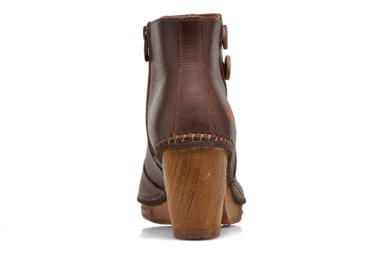 Bottines et boots Art Amsterdam 362 Marron vue droite