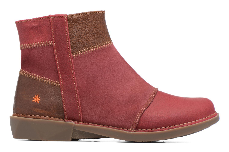 Bottines et boots Art Bergen 849 Rouge vue derrière