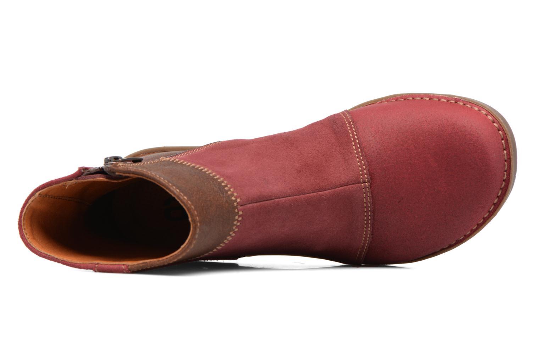 Bottines et boots Art Bergen 849 Rouge vue gauche