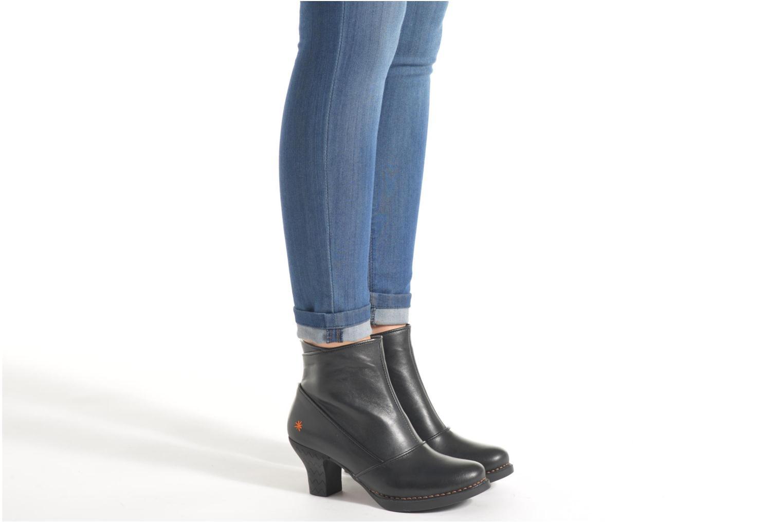 Bottines et boots Art Harlem 945 Noir vue bas / vue portée sac