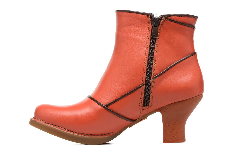 Boots en enkellaarsjes Art Harlem 945 Oranje voorkant
