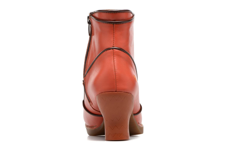 Boots en enkellaarsjes Art Harlem 945 Oranje rechts