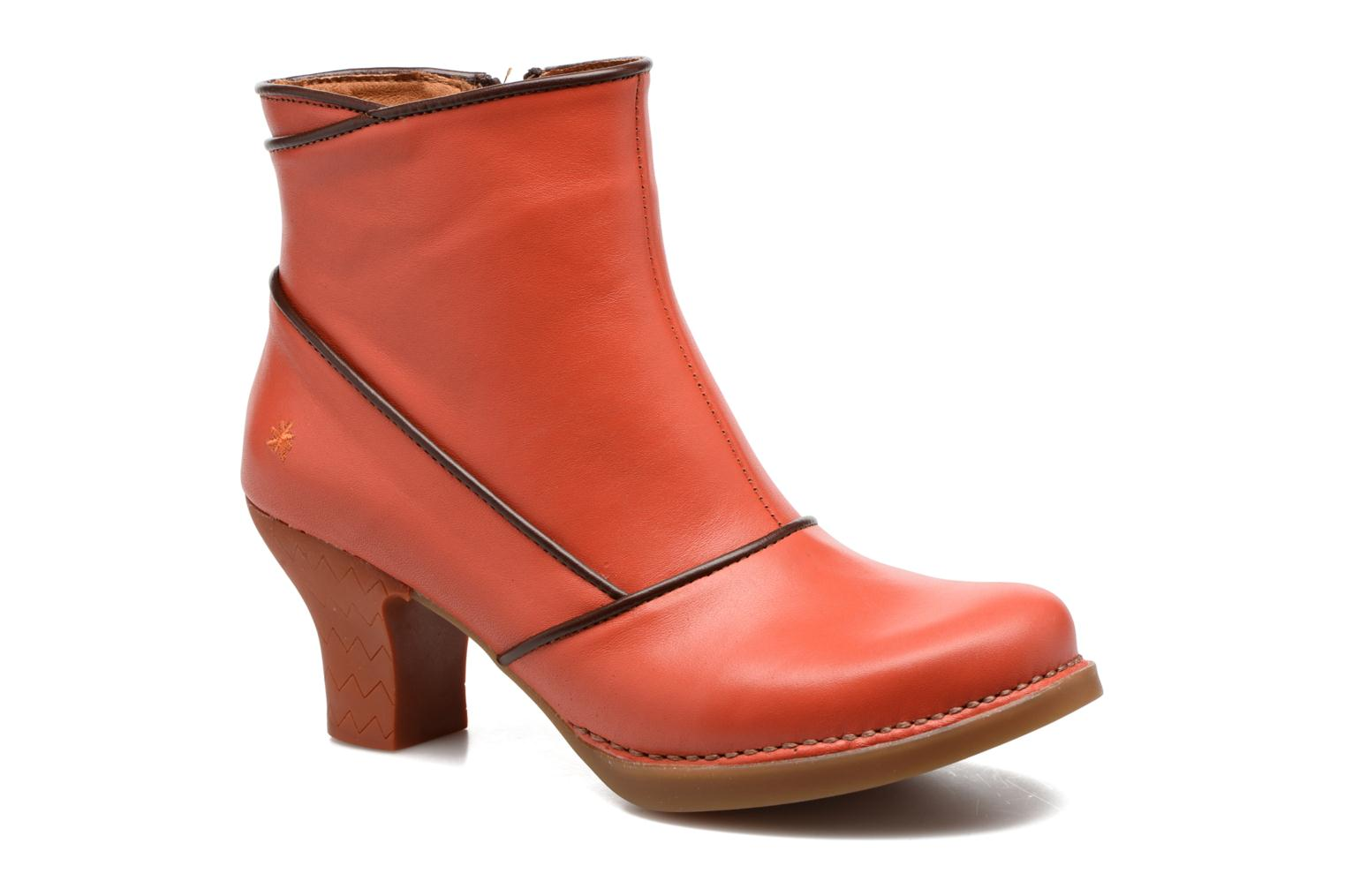 Ankle boots Art Harlem 945 Orange detailed view/ Pair view