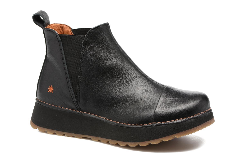 Boots en enkellaarsjes Art Heathrow 1023 Zwart detail